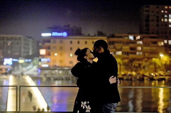 Zadar, 01.01.2021 - Docek Nove 2021. godine u Zadru. foto HINA/ Zvonko Kucelin/ zk