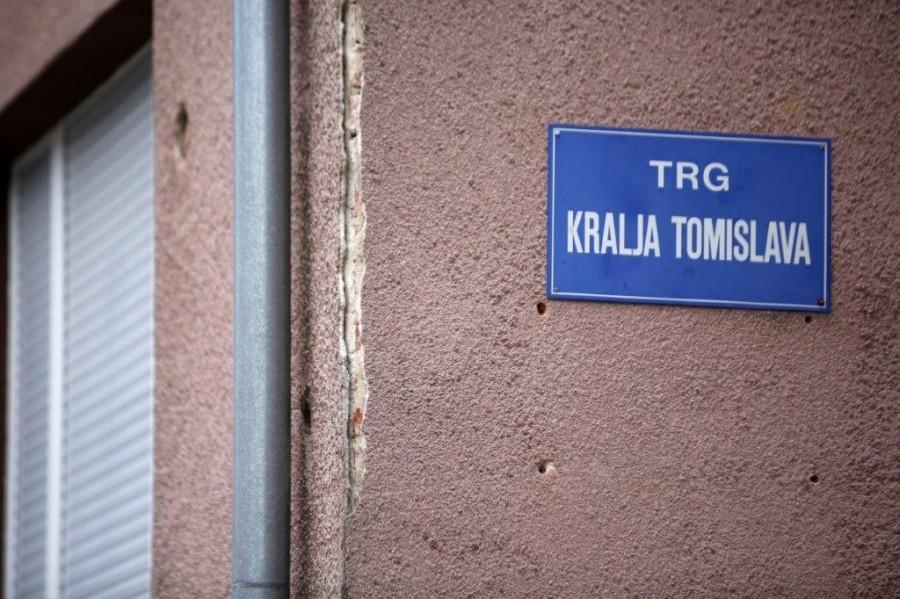 Hrvatska Kostajnica _Trg Kralja Tomislava