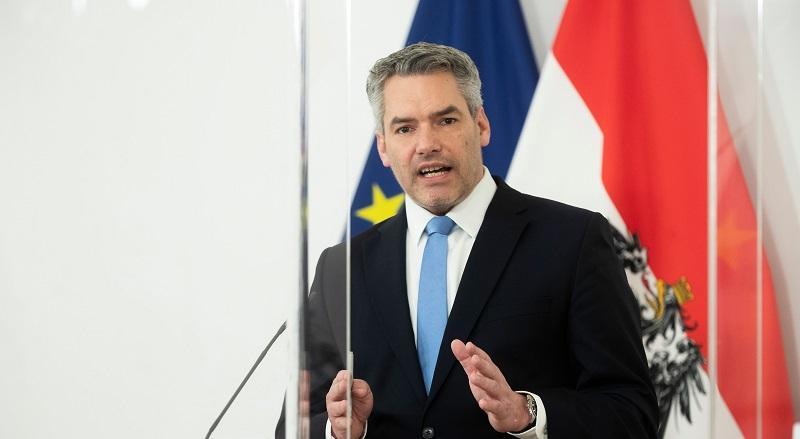 Ministar unutarnjih poslova Karl Nehammer / Foto: Fenix (S.Herek / Christopher Dunker)