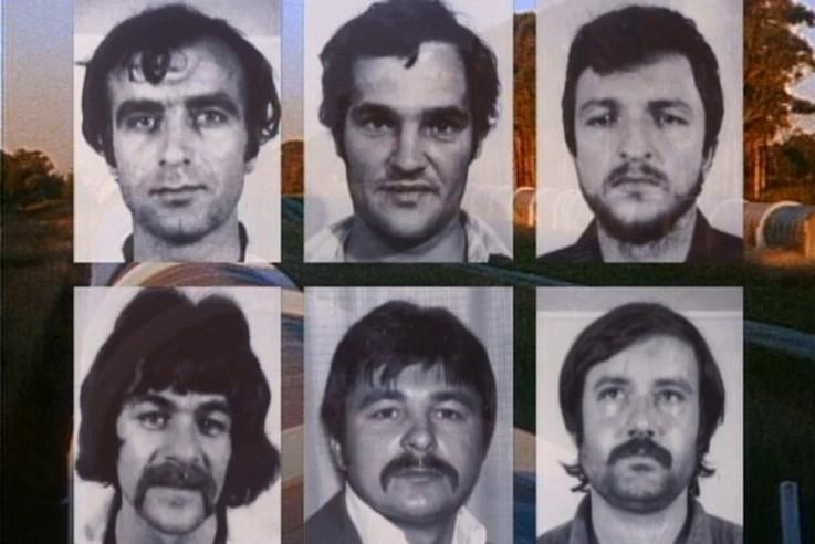 Arhivska snimka osuđene  hrvatske šestorice iz Australije / Foto: Preslik ( I.V.)