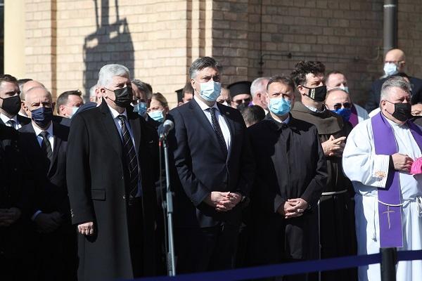 Dragan Čović, Andrej Plenković i Gordan Jandroković / Foto: Hina
