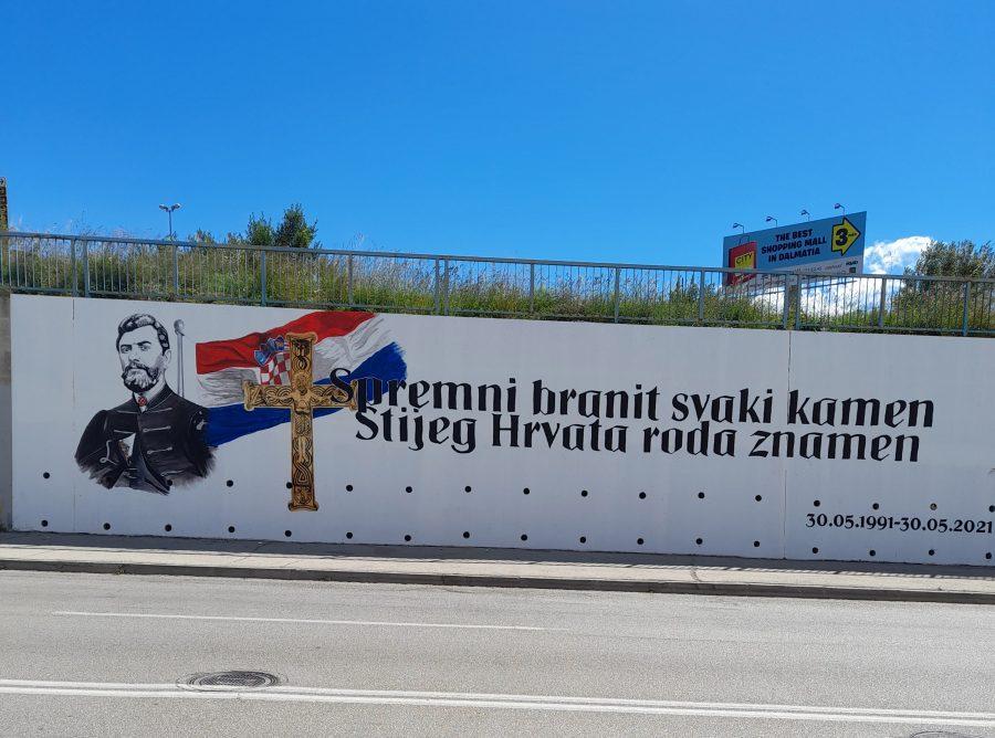 mural u splitu