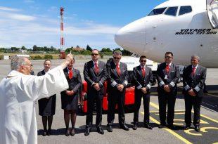 ETF Airways blagoslov posade