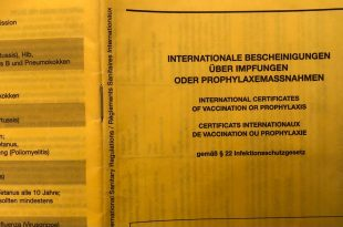 potvrda o cijepljenju