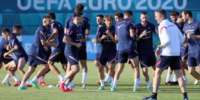 Vatreni Hrvatska trening