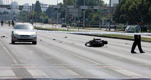 Prometna nesreca motocikl