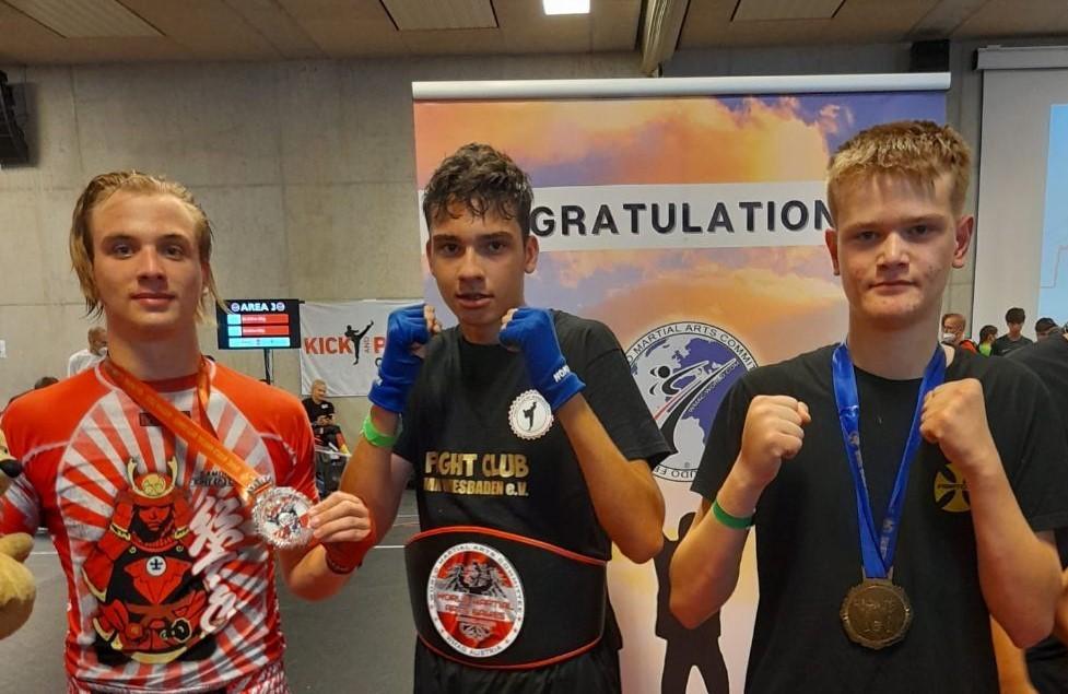 SP U KICKBOXINGU U SALZBURGU: Manuel Bodrožić (17), kick boksač hrvatskih korijena iz Wiesbadena osvojio titulu svjetskog prvaka