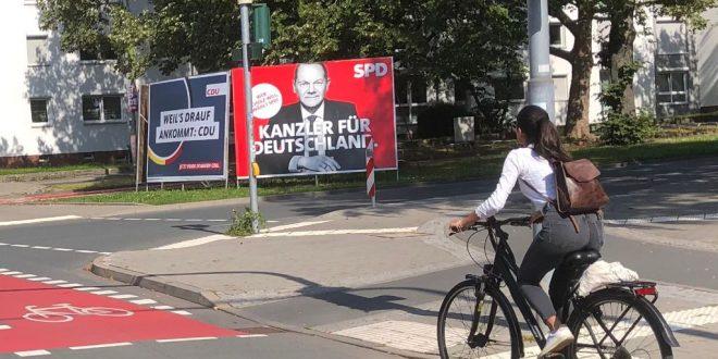 njemacki izbori plakati 2021